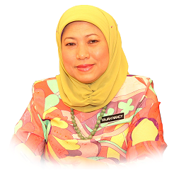 Photo - Nancy Binti Shukri, YB Dato' Sri Hajah