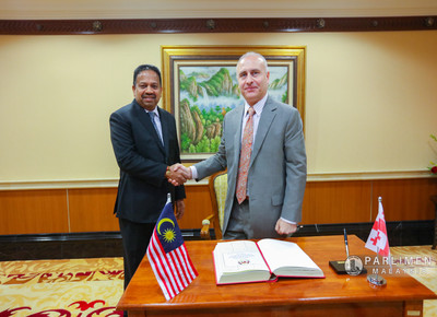 Kunjungan Hormat H.E Nikoloz Apkhazava, Duta dari Plenipotentiary of Georgia ke Malaysia