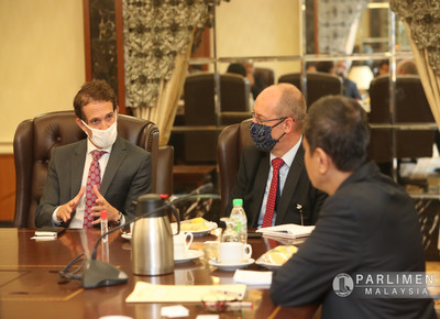 Kunjungan Hormat bersama Malaysia Reform Ini.. di-Pertua Dewan Rakyat (15 September 2020)